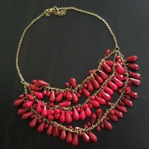 Red necklace!❤